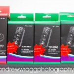 Yongnuo RF-602 wireless flash triggers