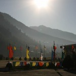 Bhutan - View from Paro airport runway